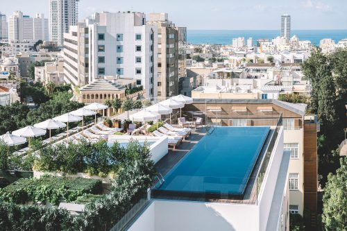 The Norman Hotel in Tel-aviv, Israel.