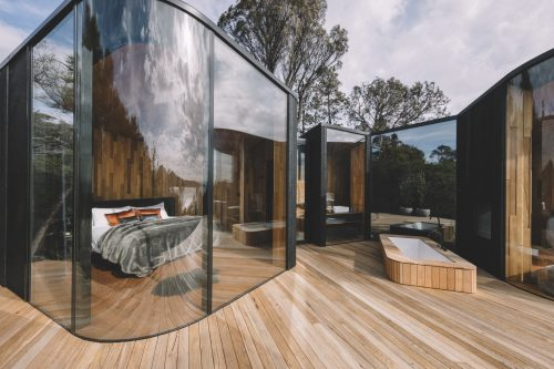 Freycinet lodge coastal pavilions in Australia