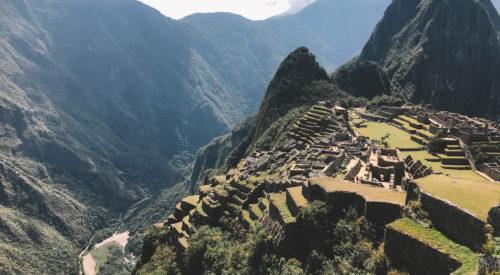 Macchu Picchu from above