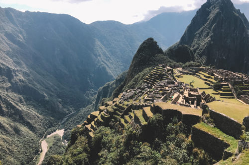 Macchu Picchu from above