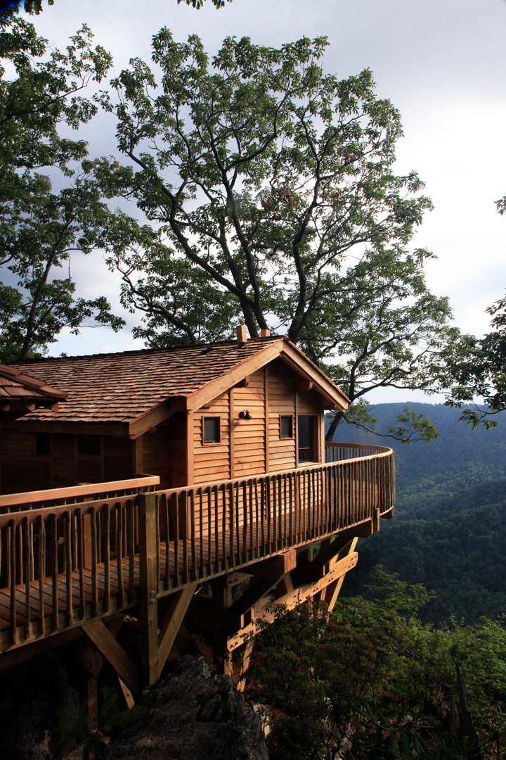 top unique treehouse hotels around the world - Primland Hotel